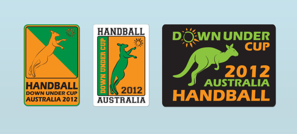Down Under Cup Sticker 2