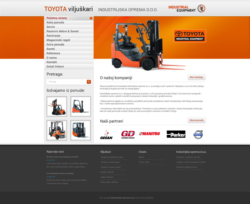 Toyota-equipment